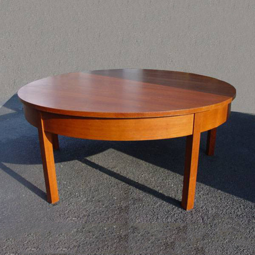 6ft vintage mid century modern solid wood dining table ebay for Mid century modern dining table