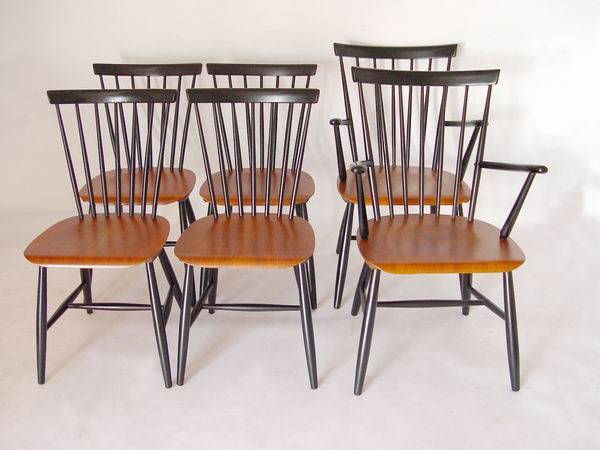 6 haga fors dining chairs