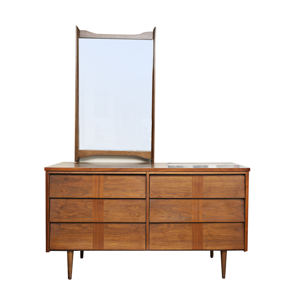 Mid Century Modern Split Level 1956 Edition Better Homes: Vintage Mid Century Dresser