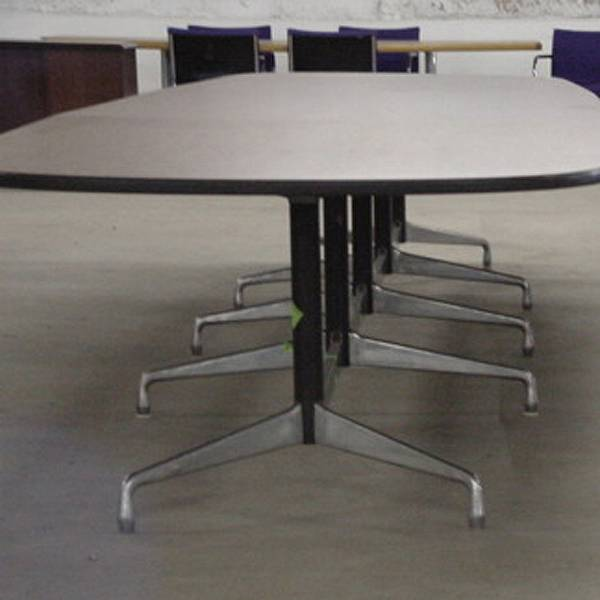 Vintage Herman Miller Conference Table Segmented Table