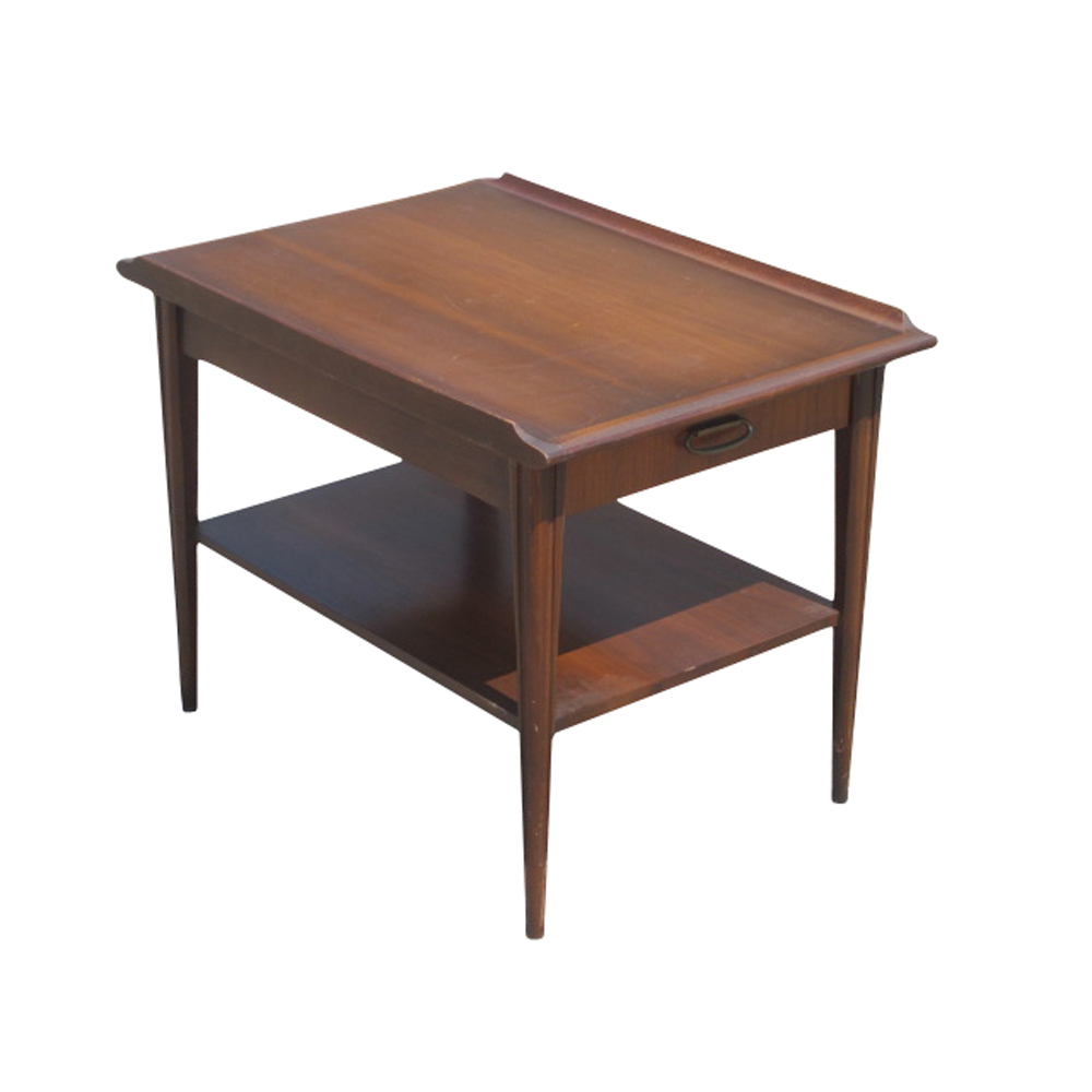 Midcentury retro style modern architectural vintage for Retro side table