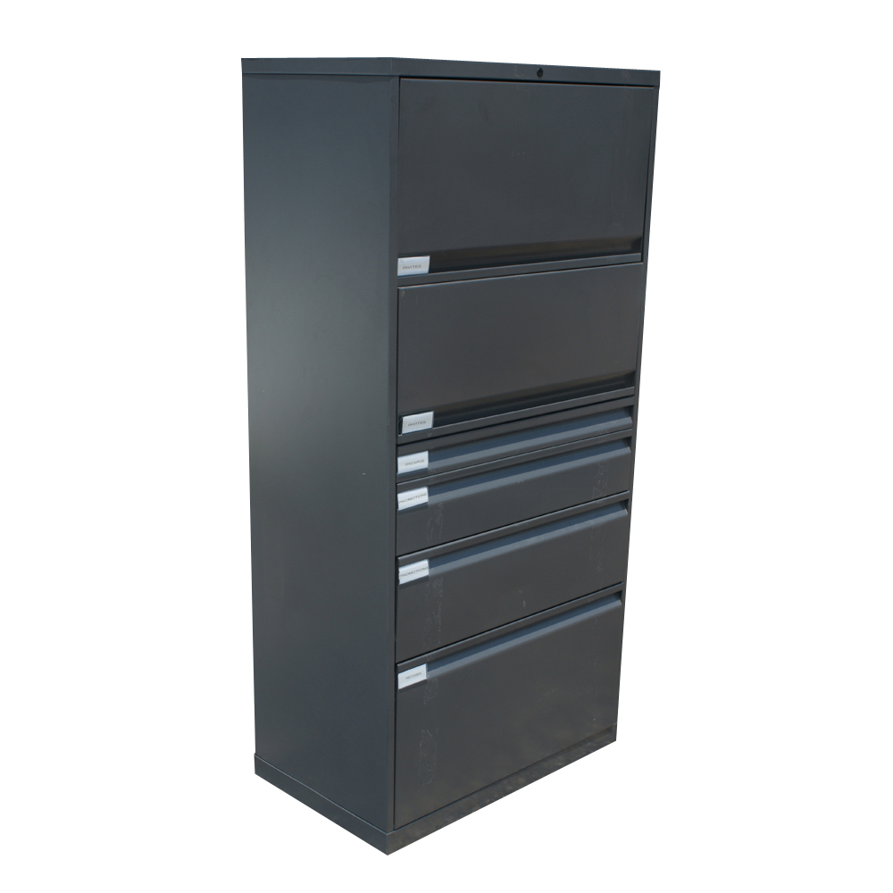Details about Knoll Metal Lateral File Cabinet