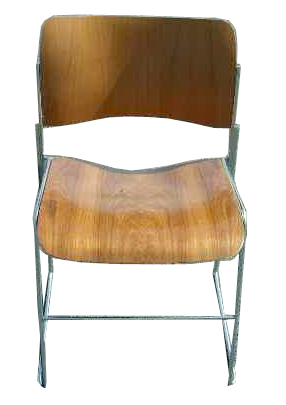 Vintage Eames Era GF Rowland 40 4 Stacking Chair