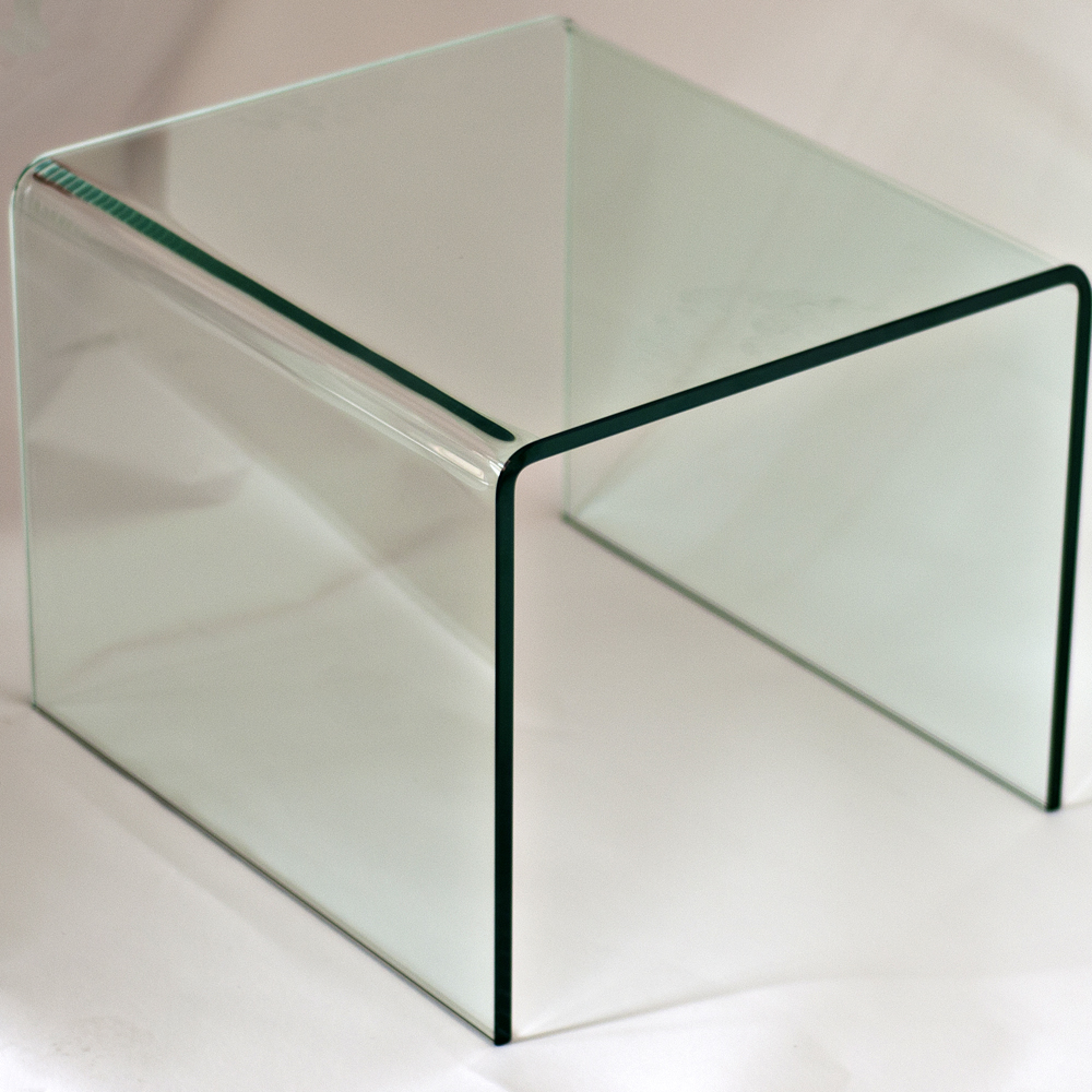 End Table Glass #24 - MidCentury Retro Style Modern Architectural Vintage Furniture From  Metroretro And MCM Consignment