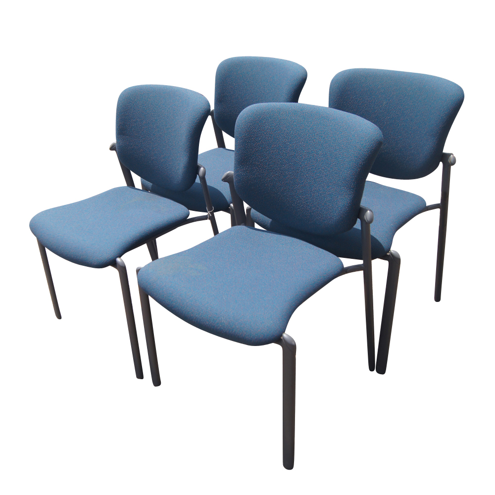 Haworth improv seating blue stacking chairs improv side stack chairs