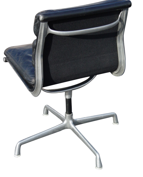 Herman Miller Eames Aluminum Group Soft Pad Chair EBay