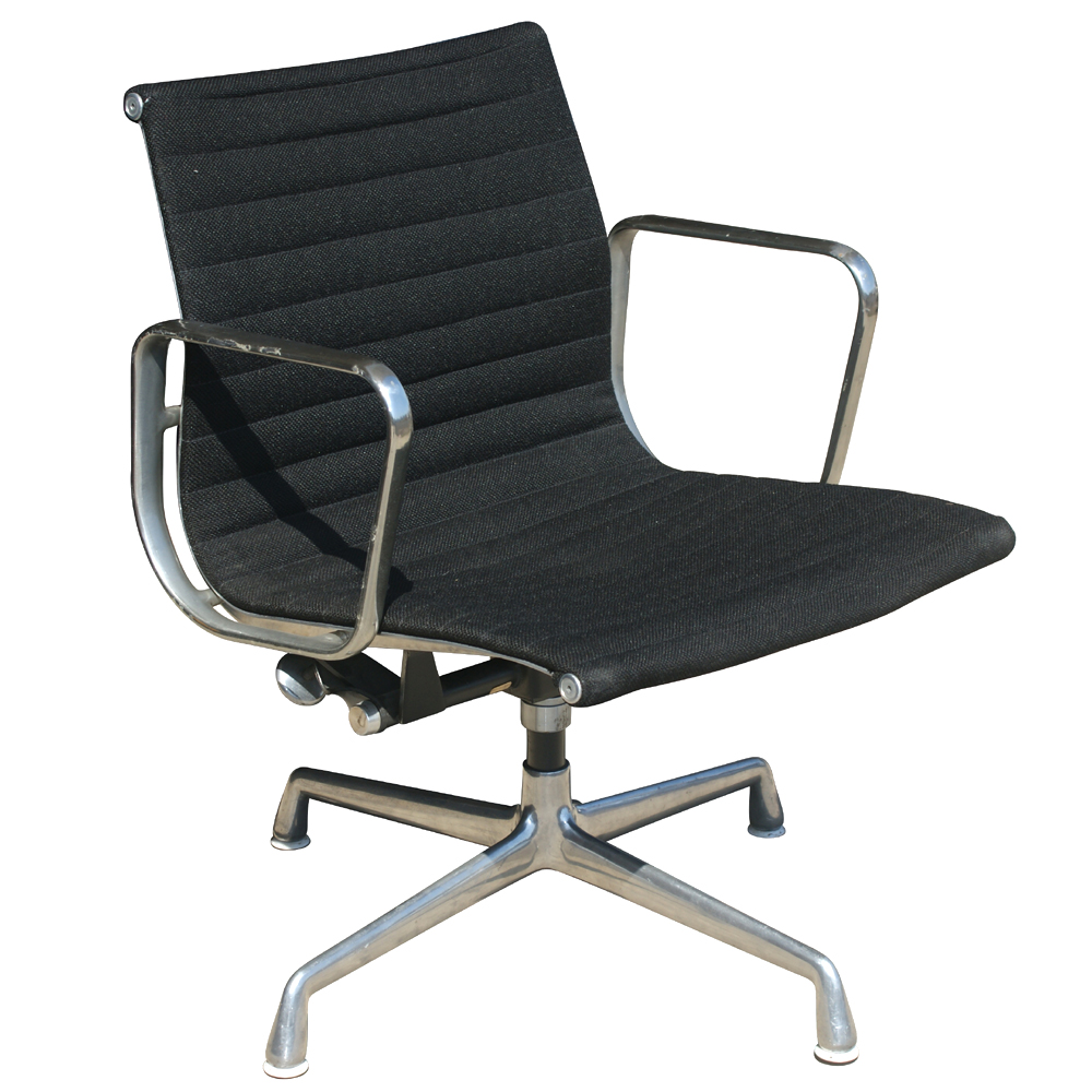 Herman miller eames fiberglass side shell chair brown ebay - Herman miller chair eames ...