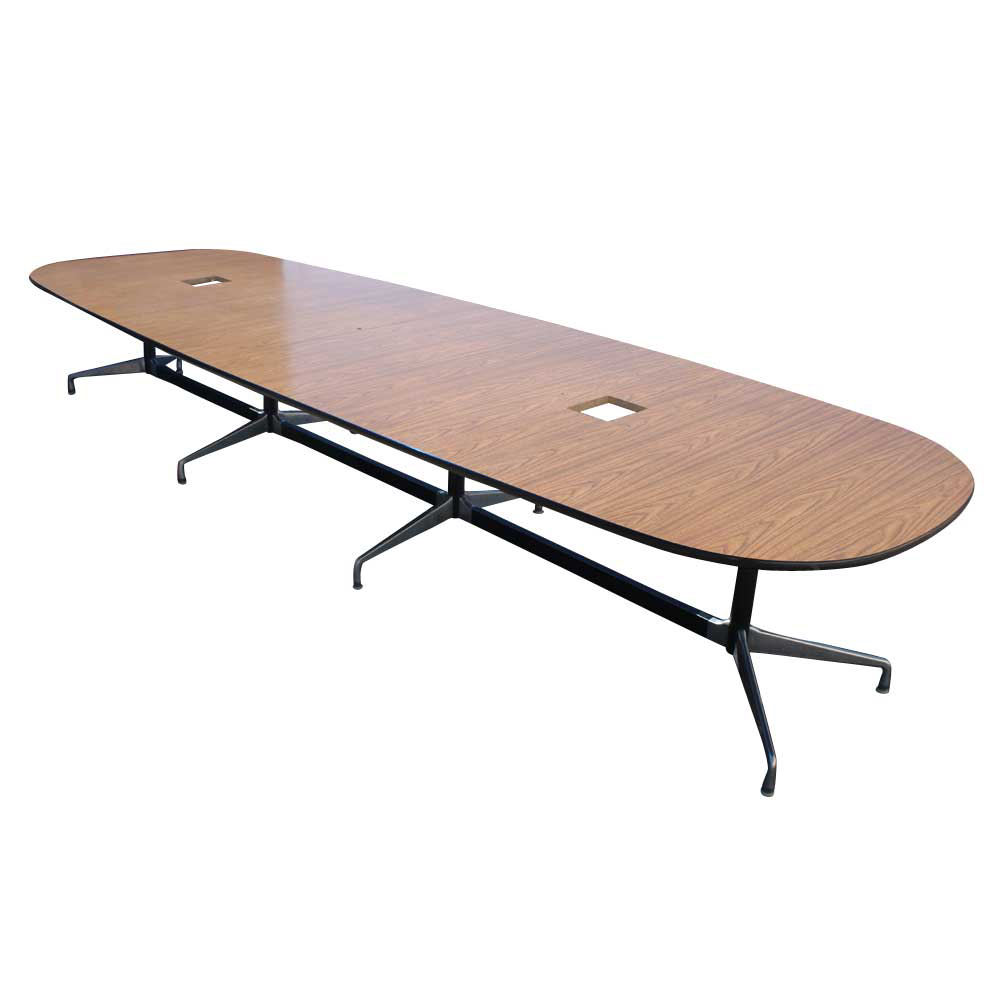 15ft herman miller eames conference laminate table ebay. Black Bedroom Furniture Sets. Home Design Ideas