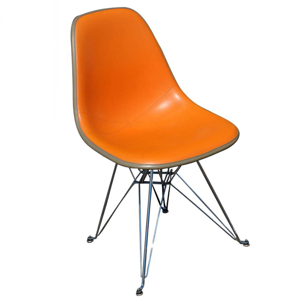 Herman miller eames upholstered shell chair ebay - Eames chair herman miller ...