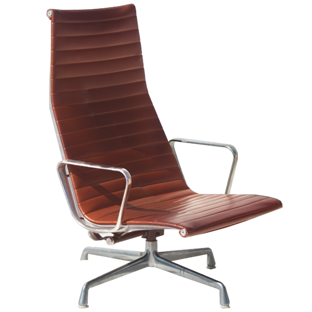 1 Herman Miller Eames Aluminum Group Lounge Chair