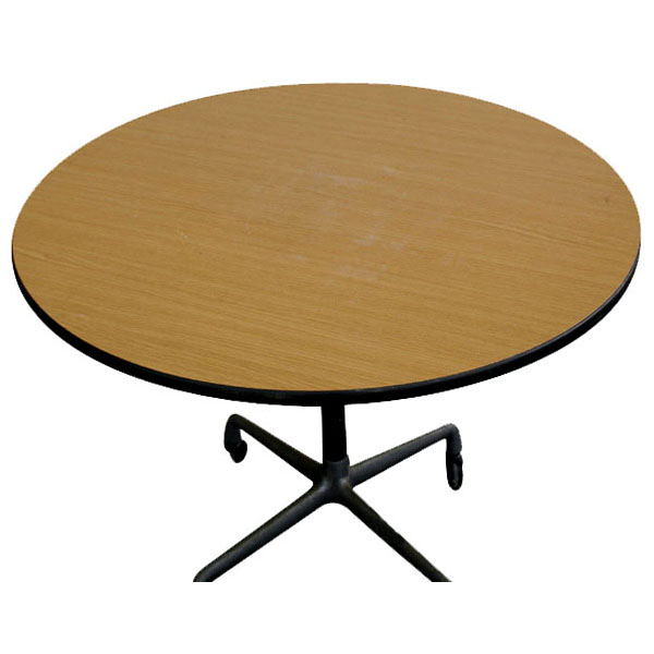 dining table eames 36 round dining table