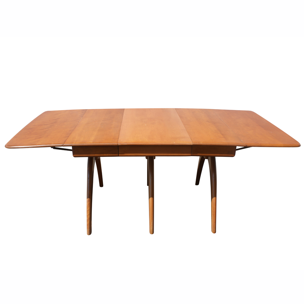 heywood wakefield heywood wakefield m197g dining table 1948 1955 most