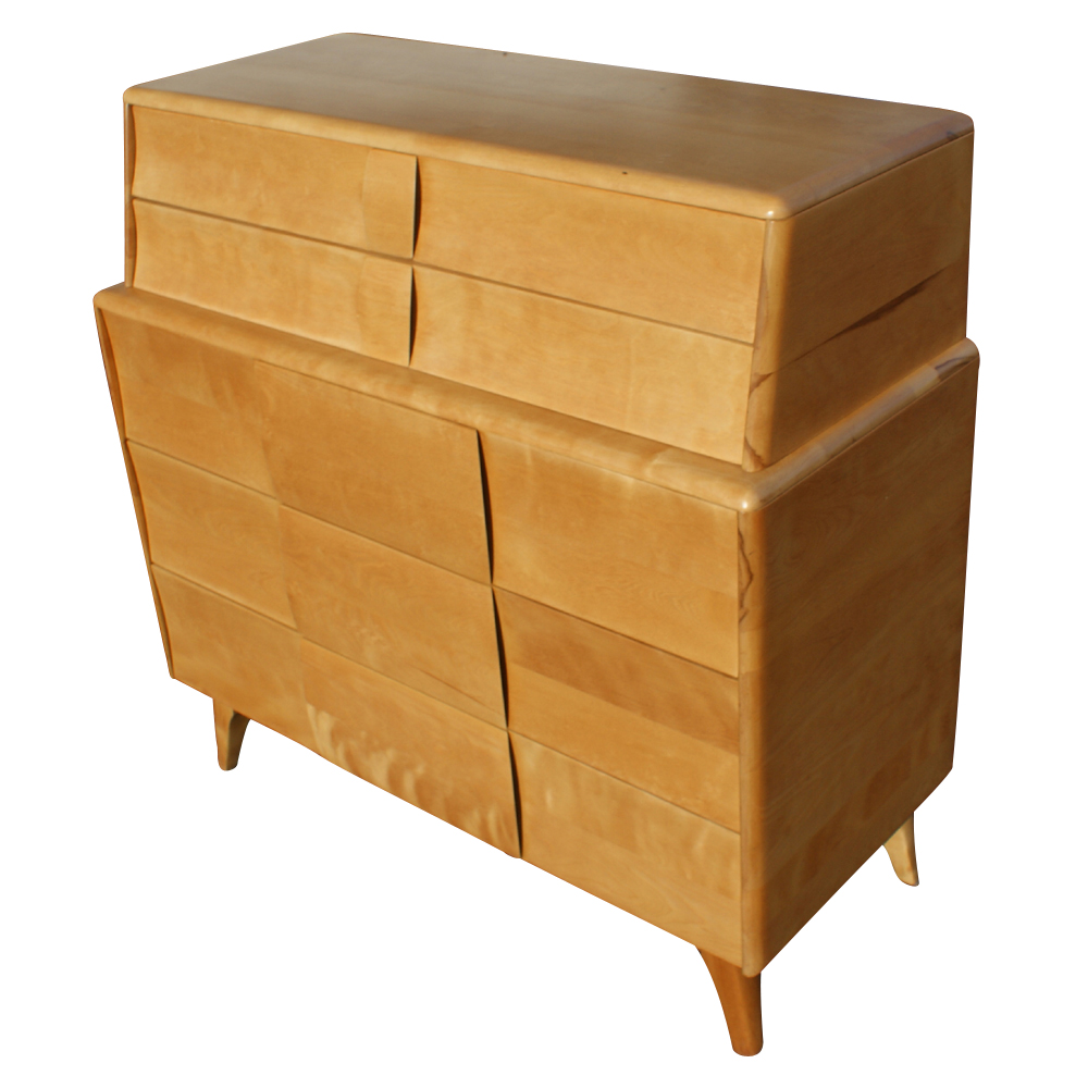 Heywood Wakefield Kohinoor 3 Drawer Dresser Deck Top