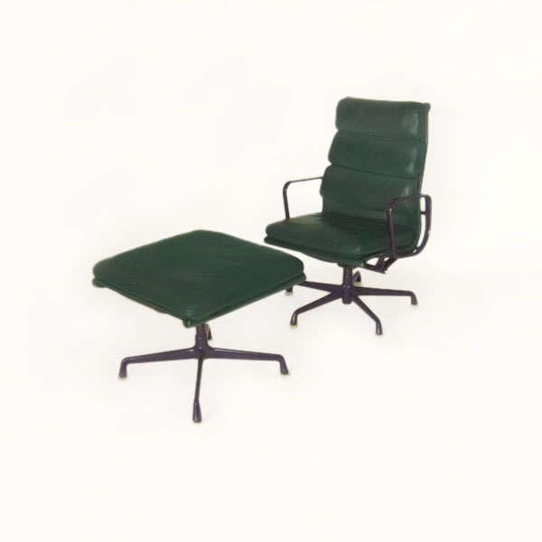 Herman Miller Eames Soft Pad Lounge Chair Ottoman EBay