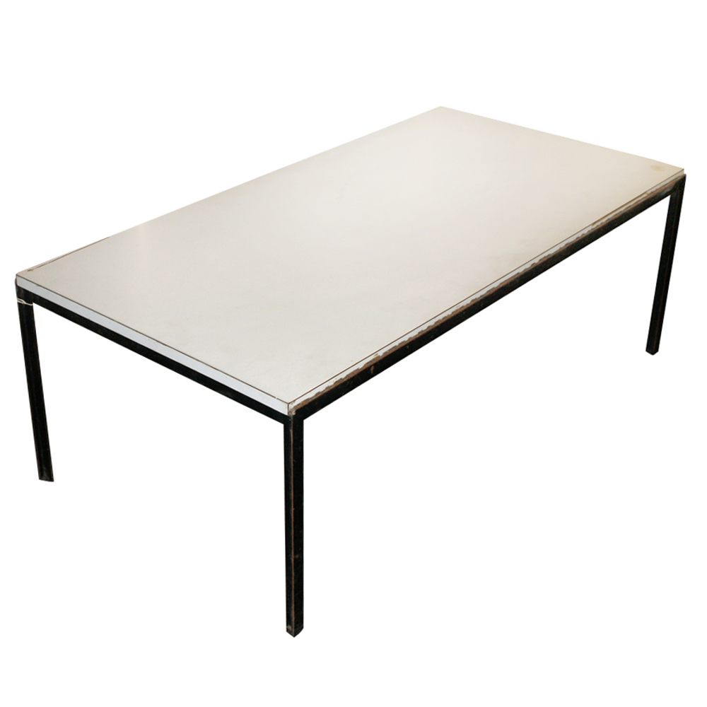 early edition florence knoll t angle coffee table ebay. Black Bedroom Furniture Sets. Home Design Ideas
