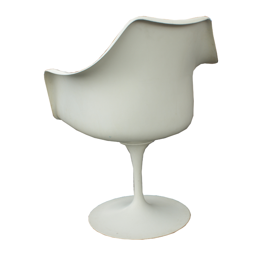 Knoll eero saarinen tulip arm chair ebay for Eero saarinen tulip armchair