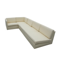 Vintage Knoll Pfister L Shaped Sectional Sofa (abp65) HOLD