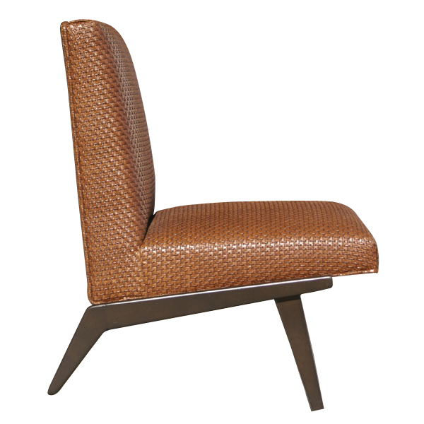 Early Edition Knoll Jens Risom Armless Lounge Chair