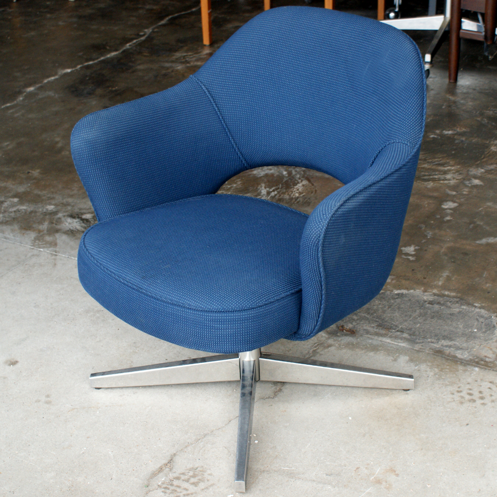 Metro retro furniture 1 mid century modern knoll saarinen executive chair - Knoll life chair parts ...