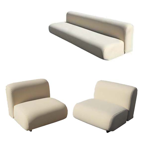 Metro retro furniture 2 knoll suzanne lounge chairs takahama kazuhide - Knoll inc chairs ...