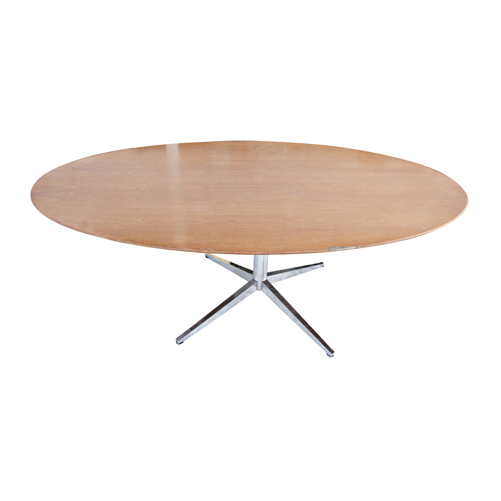 65 ft Florence Knoll Oval Conference Dining Table eBay : acg41knolltable02 from ebay.com size 1000 x 1000 jpeg 141kB