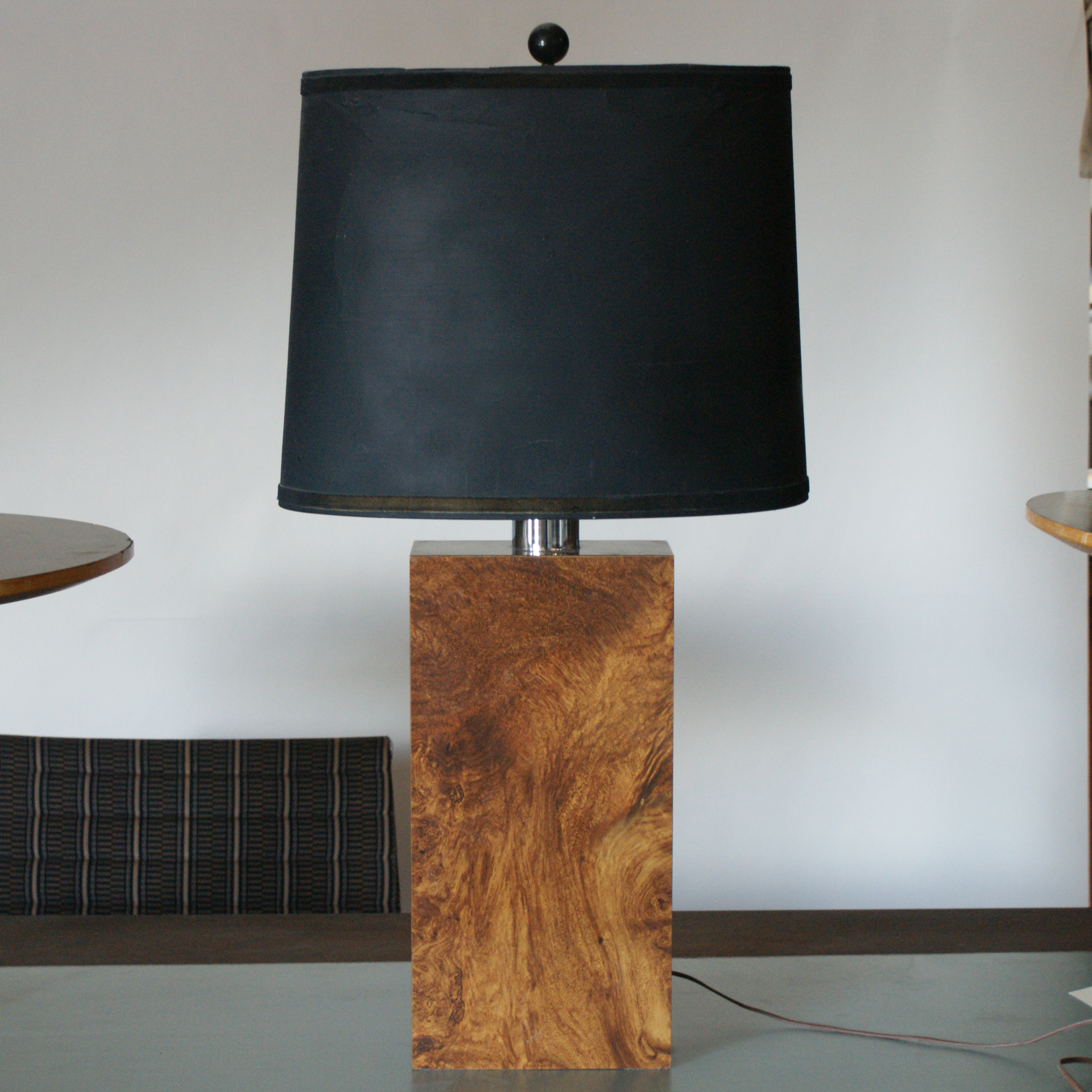 Mid century modern table lamp - Mid Century Modern Rectangular Table Lamp