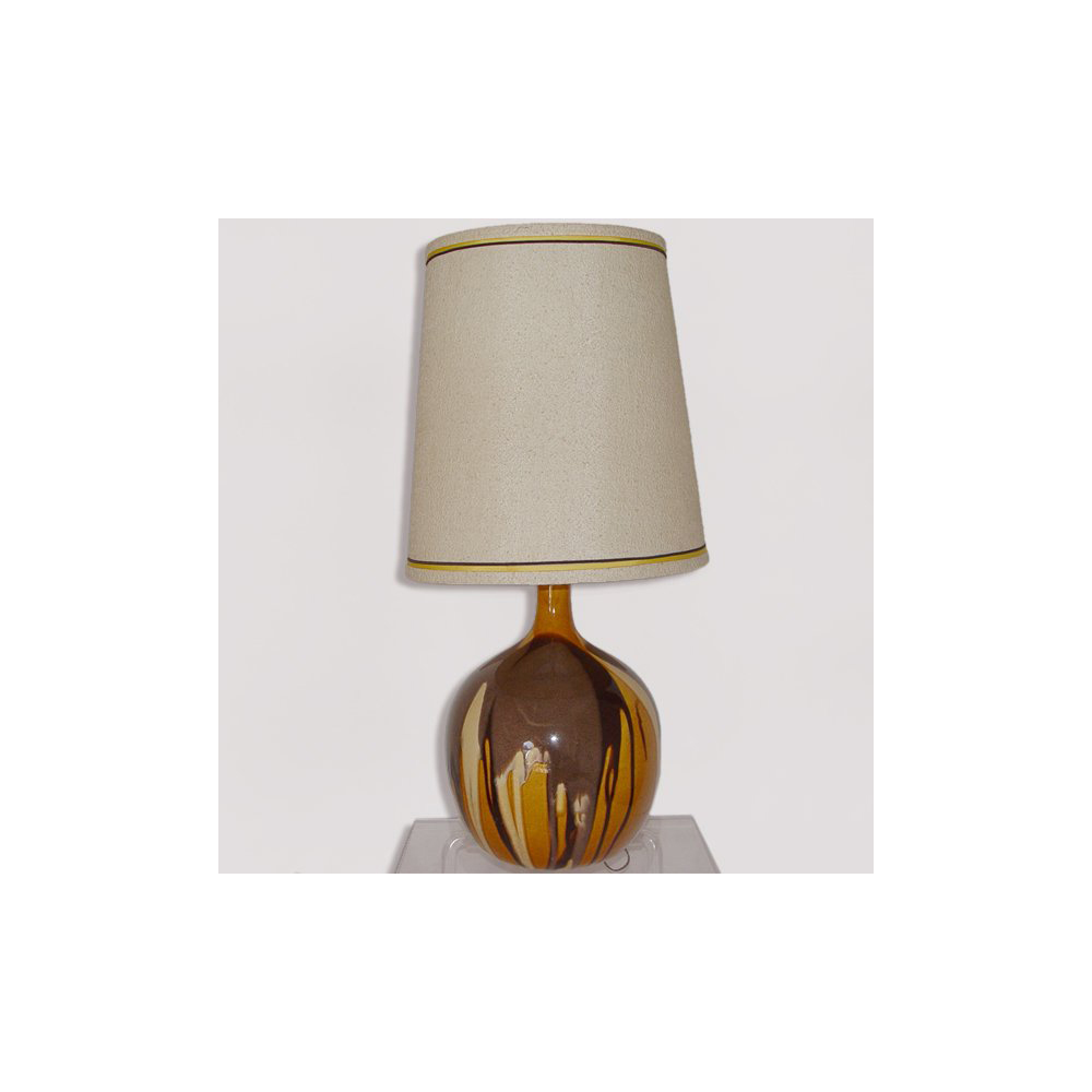 Country table lamps ceramic lamp ceramic lamp shades on mid century ceramic table lamp with shade ebay geotapseo Images