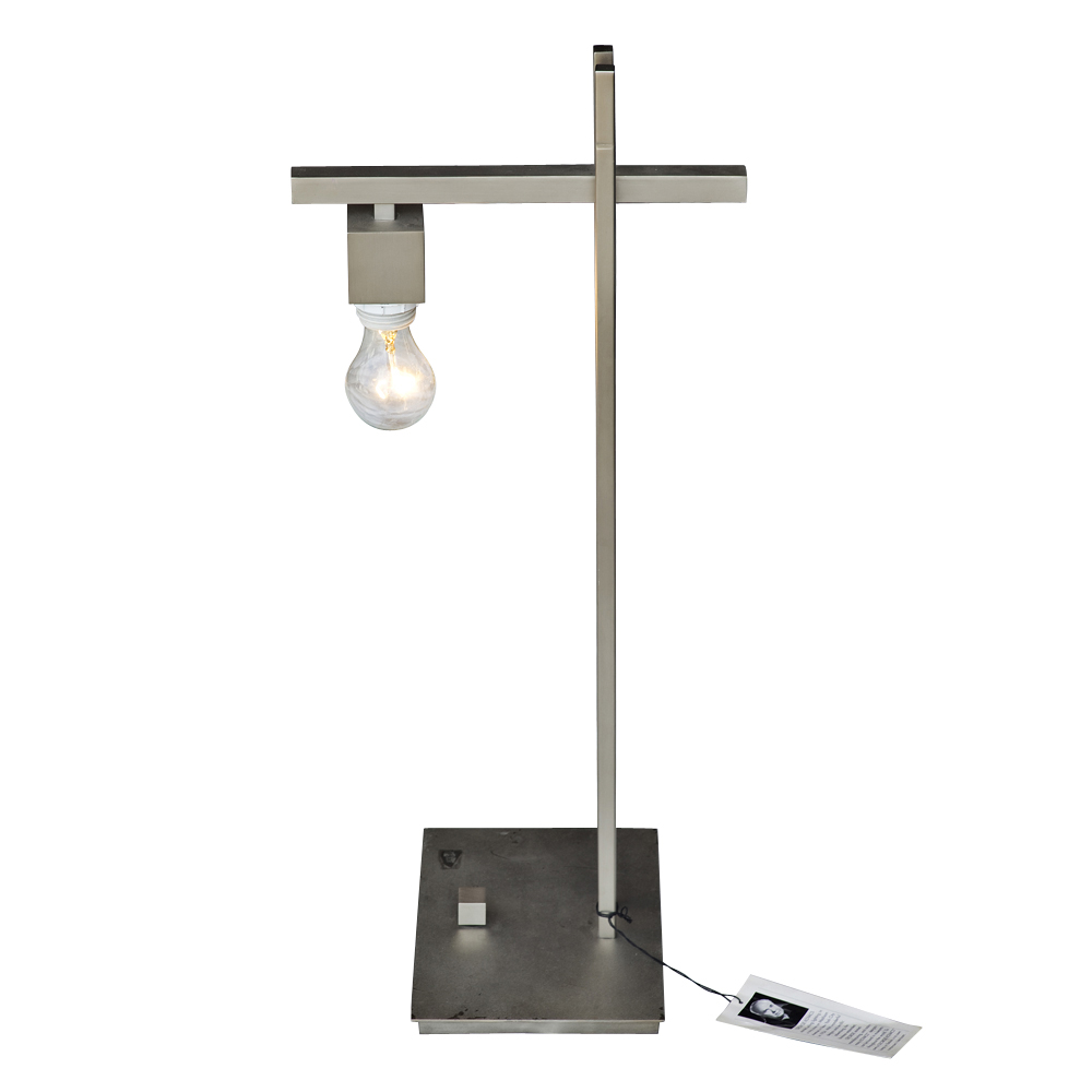 Hi tech chrome and metal table task lamp by george kovacs ebay - Table basse high tech ...