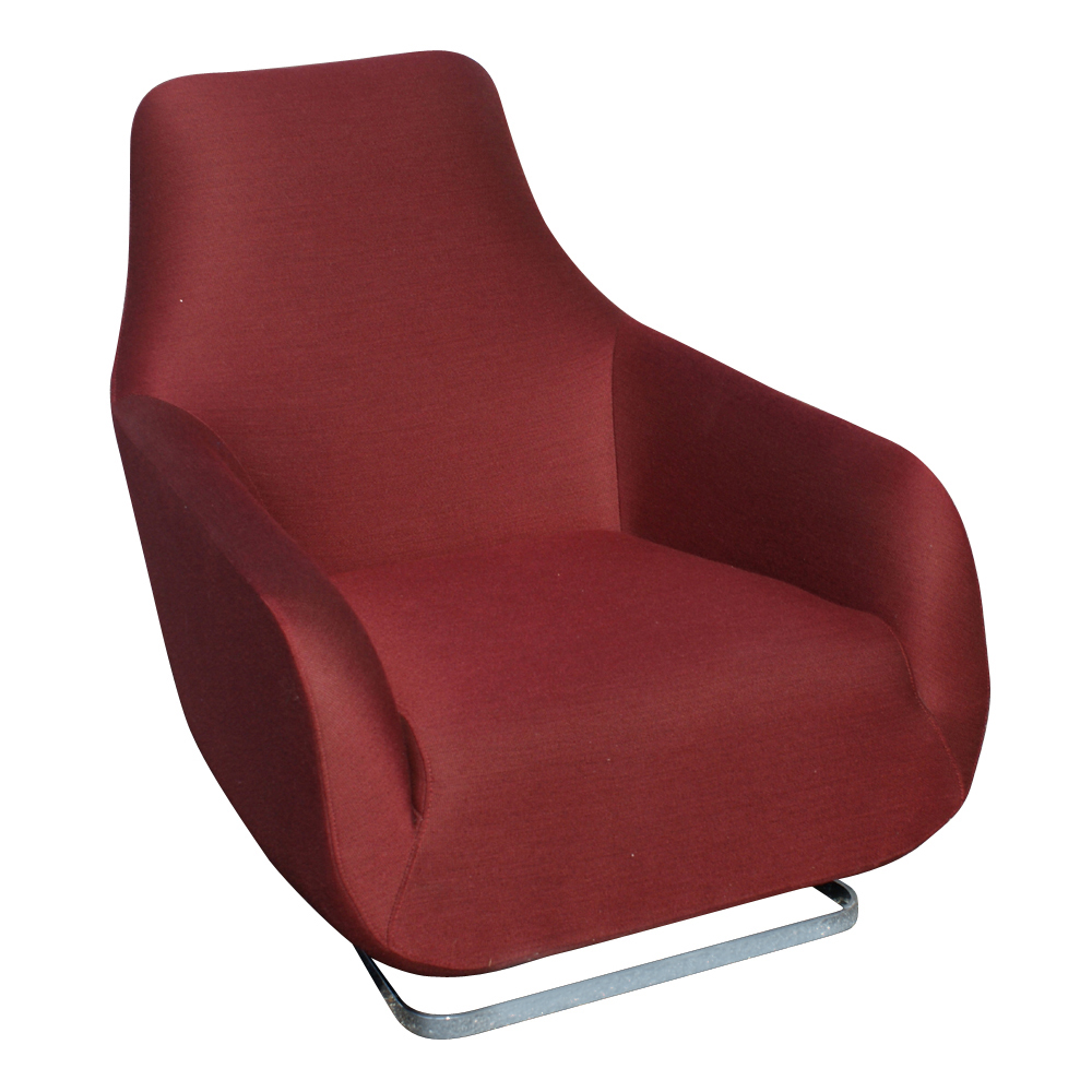 (2) Ligne Roset GUEST Aluminum Dining Arm Chairs 10% OFF ...