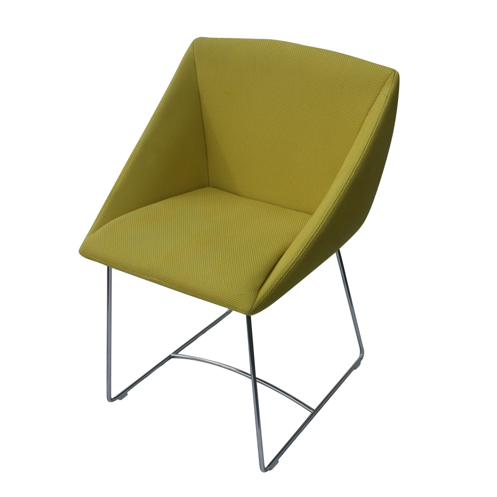 metro retro furniture 1 new ligne roset papillon side arm chair green. Black Bedroom Furniture Sets. Home Design Ideas