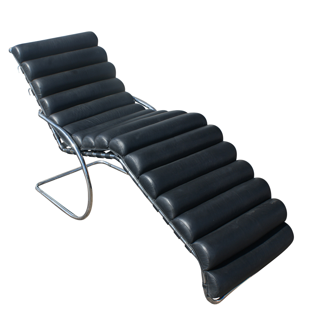 Mies van der rohe adjustable mr chaise lounge ebay - Chaise mies van der rohe ...