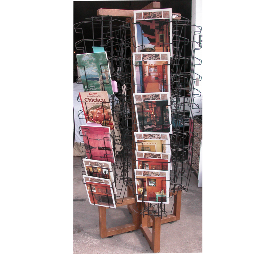 marvelous standing g magazine on display with wire rack rotating in floor