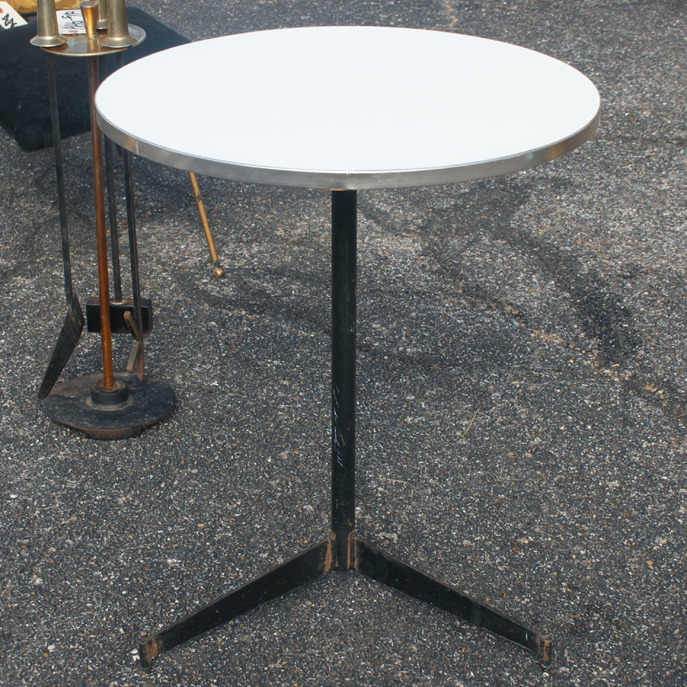 2ft Vintage Iron Cigarette Table By Paul Mccobb Ebay
