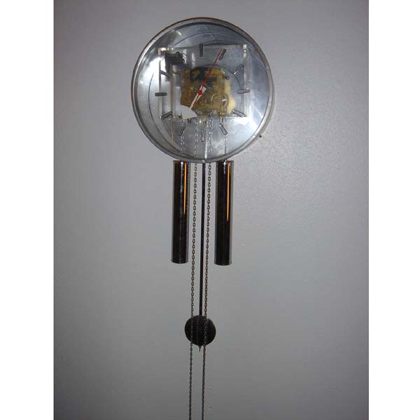 Howard miller george nelson pendulum wall clock ebay for Nelson wall clock