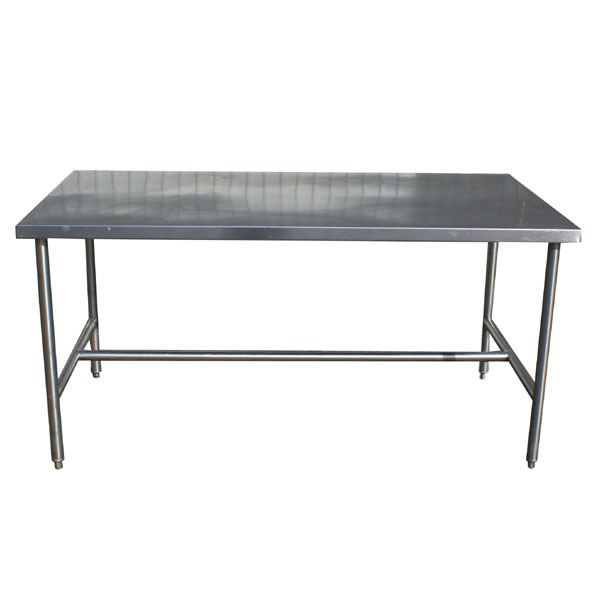 MidCentury Retro Style Modern Architectural Vintage Furniture From - Large stainless steel work table