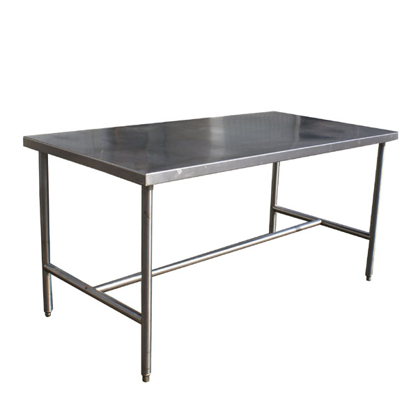 MidCentury Retro Style Modern Architectural Vintage Furniture From - 8 ft stainless steel work table