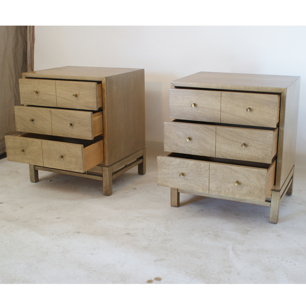 2 vintage american of martinsville night stand tables ebay for American martinsville bedroom furniture