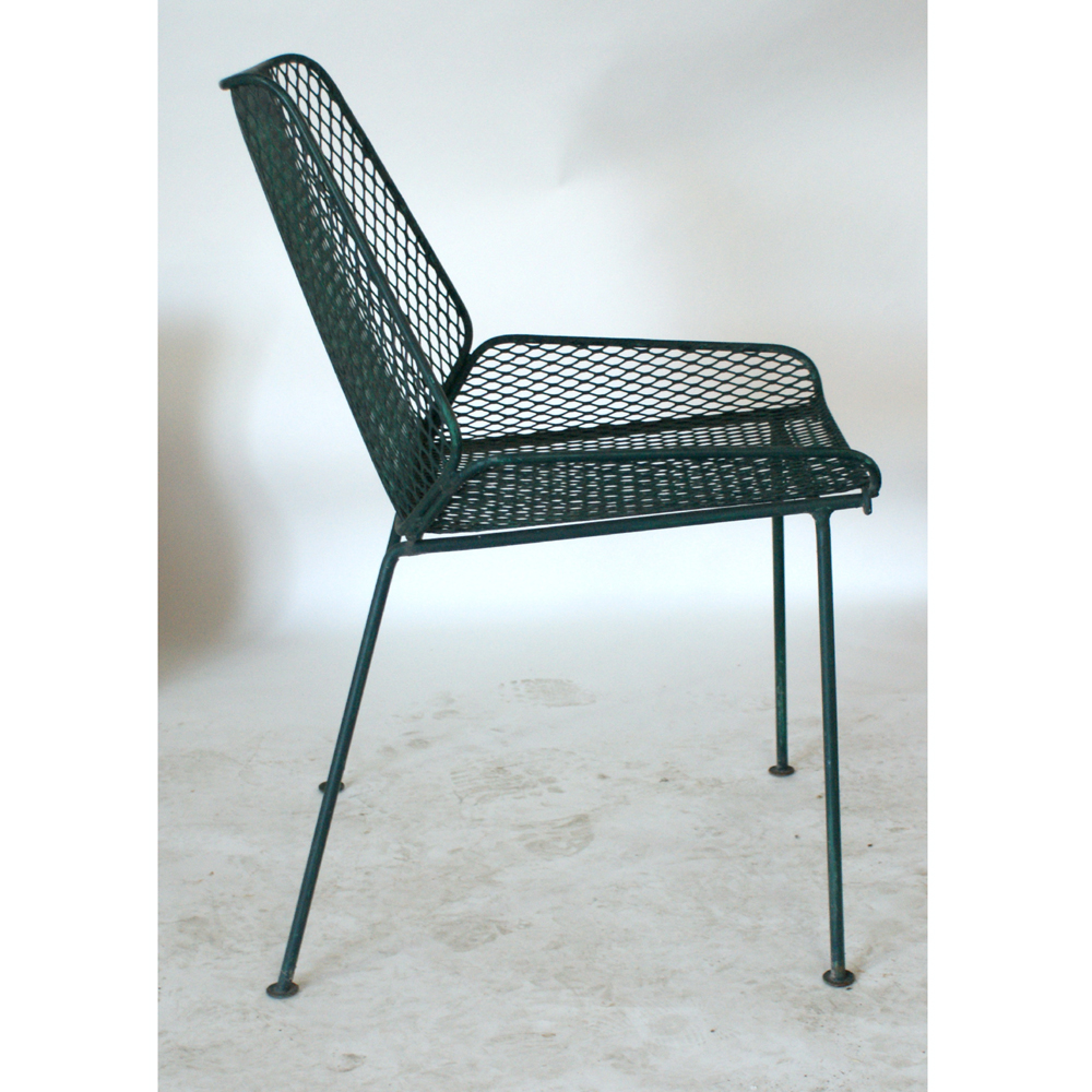 Vintage mid century modern metal folding wire mesh patio chairs - Midcentury Retro Style Modern Architectural Vintage Furniture From Metroretro And Mcm Consignment