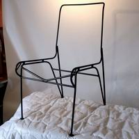 1950's Wrought Iron Patio Furniture