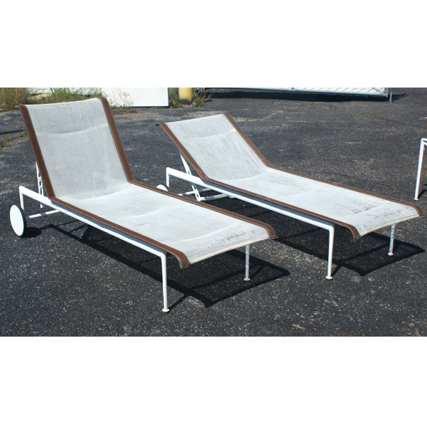 1 1966 adjustable chaise lounge knoll richard schultz ebay. Black Bedroom Furniture Sets. Home Design Ideas