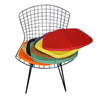 Superieur Knoll Style Bertoia Side Chair Seat Cushion   Colors Available
