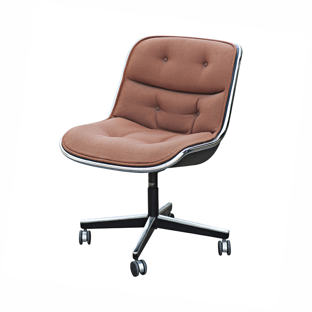 charles pollock for knoll swivel office chair ebay