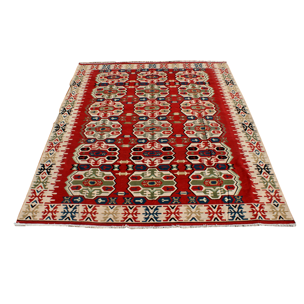 7ft X 10ft Hand Knotted Indian Rug 70% OFF MR11162