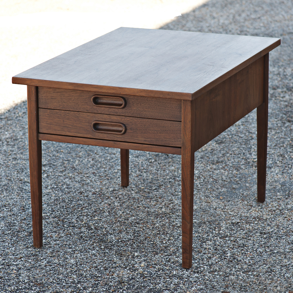details about mid century modern side end table