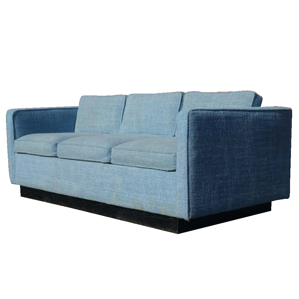 vintage knoll pfister style sofa couch bed ebay. Black Bedroom Furniture Sets. Home Design Ideas