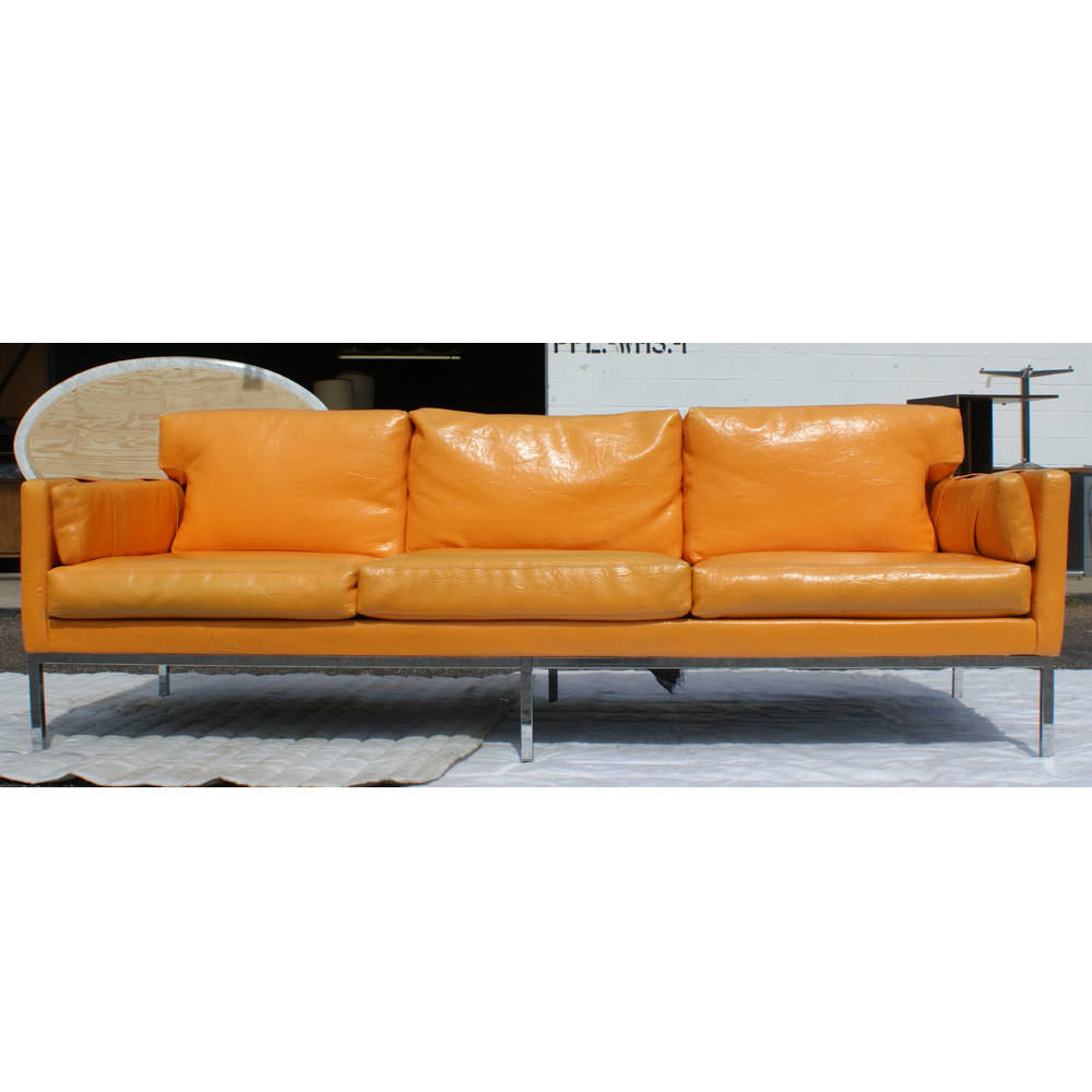 Antique Sofa Reupholstery Cost: MidCentury Retro Style Modern Architectural Vintage