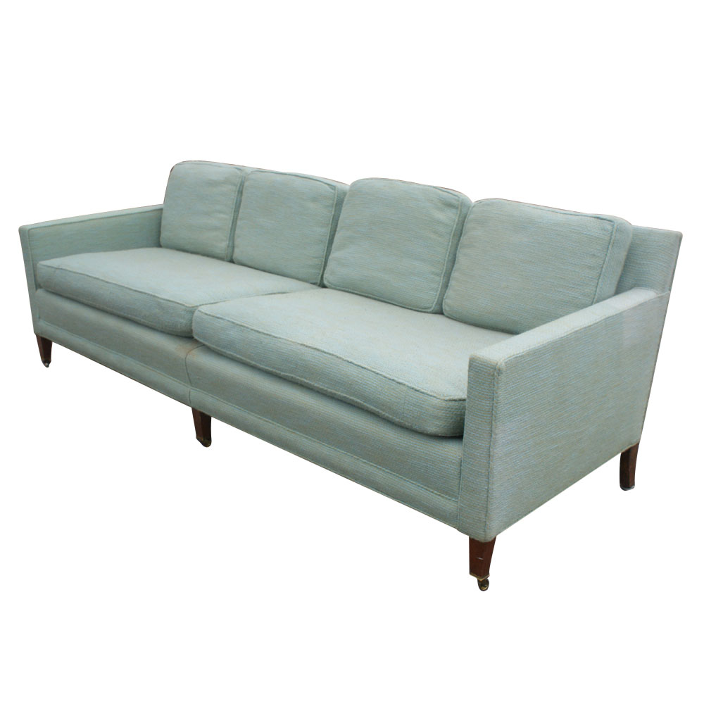 Midcentury retro style modern architectural vintage for Baker furniture sectional sofa