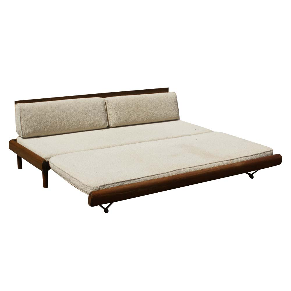 Midcentury retro style modern architectural vintage furniture from metroretro and mcm consignment Daybed sofa couch