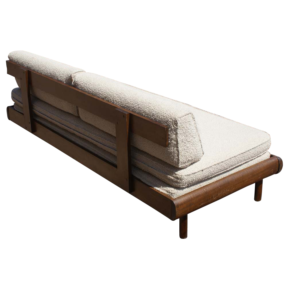 Daybed Converts To Queen : Midcentury retro style modern architectural vintage