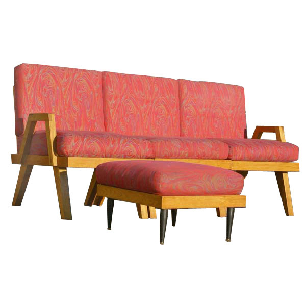 mid century modern day bed sofa couch ebay
